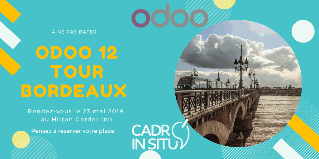 Cadr'in Situ au Odoo 12 Tour Bordeaux